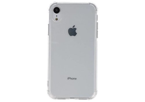 Schokbestendig TPU hoesje voor iPhone XR Transparant met verpakking