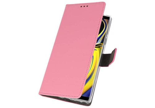 Wallet Cases Hoesje voor Galaxy Note 9 Roze