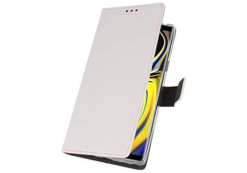Wallet Cases Hoesje voor Galaxy Note 9 Wit