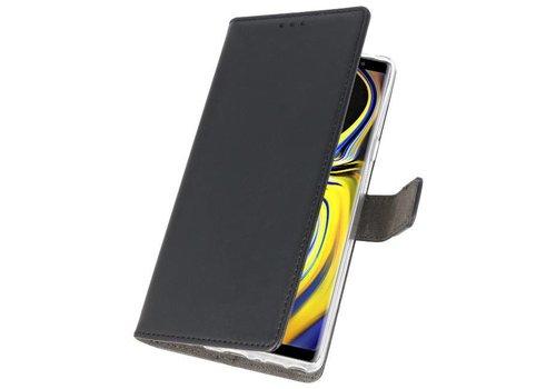 Wallet Cases Hoesje voor Galaxy Note 9 Zwart