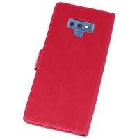 Bookstyle Wallet Cases Hoes voor Galaxy Note 9 Roze