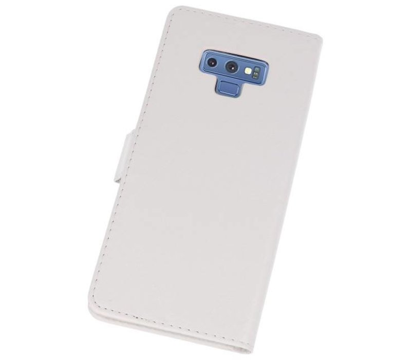 Bookstyle Wallet Cases Hoes voor Galaxy Note 9 Wit