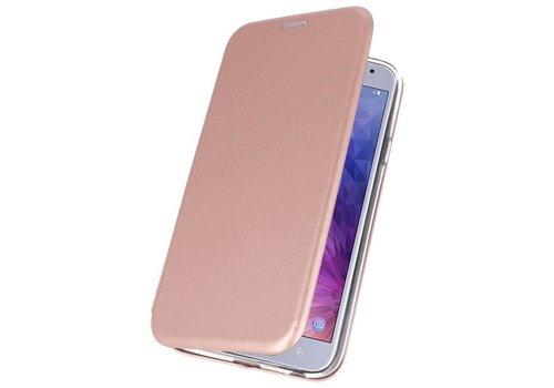 Slim Folio Case voor Galaxy J4 2018 Roze