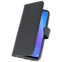 Bookstyle Wallet Cases Hoes voor Huawei P Smart 2019 Zwart