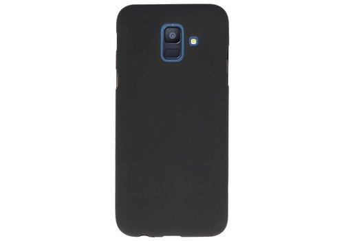 Color TPU Hoesje voor Samsung Galaxy A6 2018 Zwart