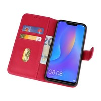 Bookstyle Wallet Cases Hoes voor Huawei P Smart Plus Roze