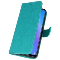 Bookstyle Wallet Cases Hoes voor Huawei P Smart Plus Groen