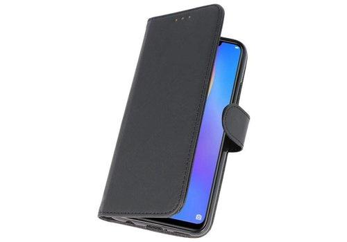 Bookstyle Wallet Cases Hoes voor Huawei P Smart Plus Zwart