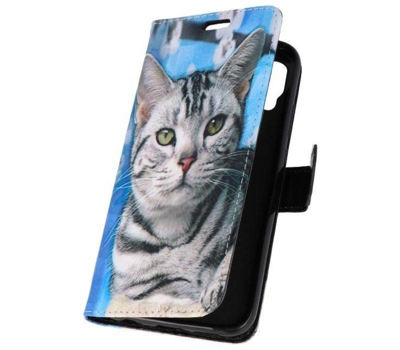 Bookstyle Hoesje voor Huawei P20 Pro 3D Print Cat