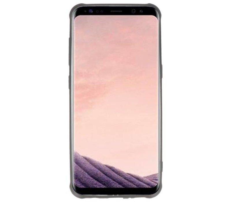 Carbon series hoesje Samsung Galaxy S8 Zwart