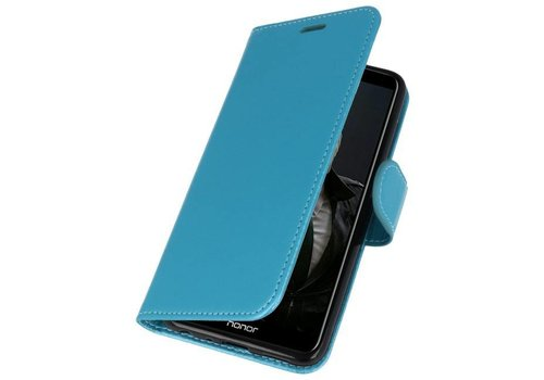 Wallet Cases Hoesje voor Huawei P Smart Turquoise