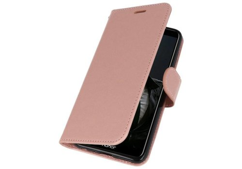 Wallet Cases Hoesje voor Huawei P Smart Roze