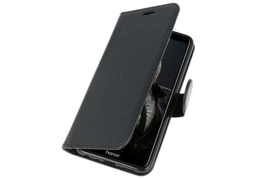 Wallet Cases Hoesje voor Huawei P Smart Zwart