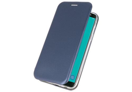 Slim Folio Case voor Samsung Galaxy J6 Navy