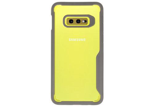 Focus Transparant Hard Cases voor Samsung Galaxy S10e Grijs