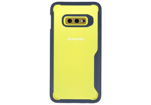 Focus Transparant Hard Cases voor Samsung Galaxy S10e Navy