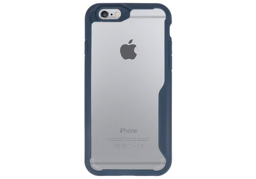 Focus Transparant Hard Cases voor iPhone 6 Navy
