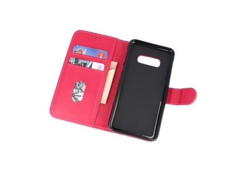 Bookstyle Wallet Cases Hoesje voor Samsung S10e Roze