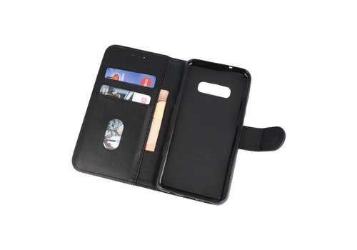Bookstyle Wallet Cases Hoesje voor Samsung S10e Zwart