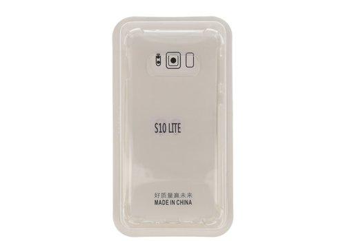 Schokbestendig transparant TPU hoesje voor Galaxy S10e met verpakking