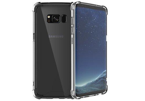 Schokbestendig transparant TPU hoesje voor Galaxy S8 Plus met verpakking