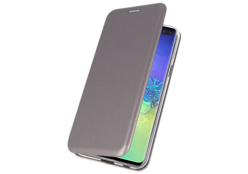 Slim Folio Case voor Samsung Galaxy S10 Plus Grijs