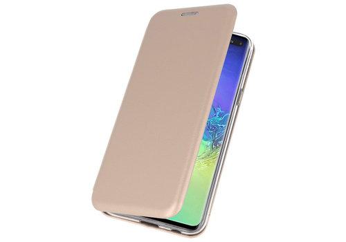 Slim Folio Case voor Samsung Galaxy S10 Plus Goud