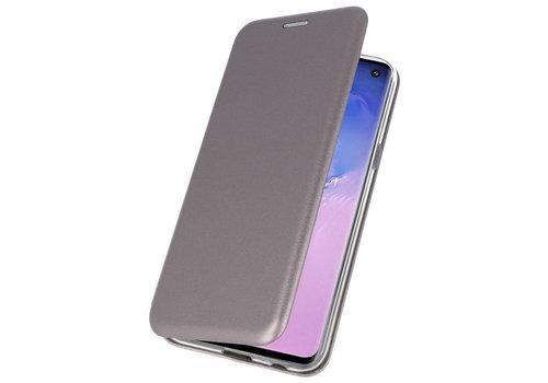 Slim Folio Case voor Samsung Galaxy S10 Grijs