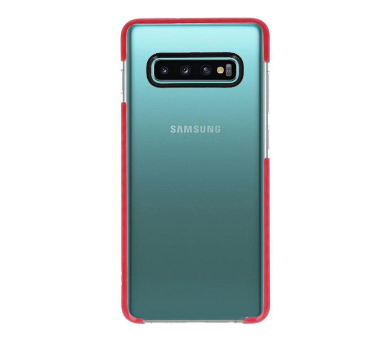 Armor TPU Hoesje voor Samsung Galaxy 10 Plus Transparant / R