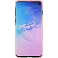 Armor TPU Hoesje voor Samsung Galaxy S10 Transparant / Roze