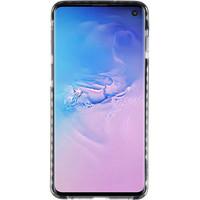 Armor TPU Hoesje voor Samsung Galaxy S10 Transparant / Zwart