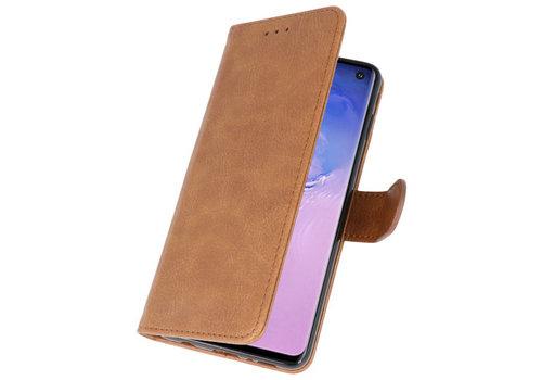 Bookstyle Wallet Cases Hoesje voor Huawei P30 Pro Bruin
