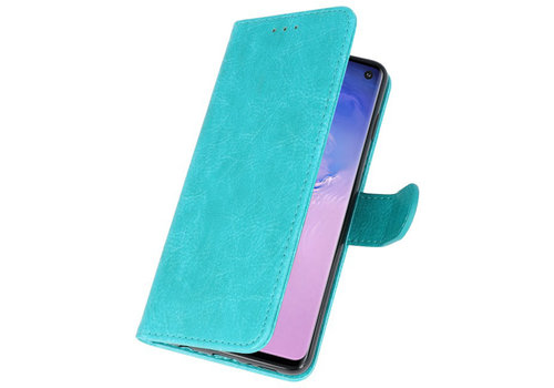 Bookstyle Wallet Cases Hoesje voor Huawei P30 Pro Groen