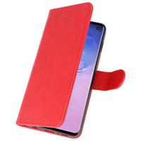 Bookstyle Wallet Cases Hoesje voor Huawei P30 Rood