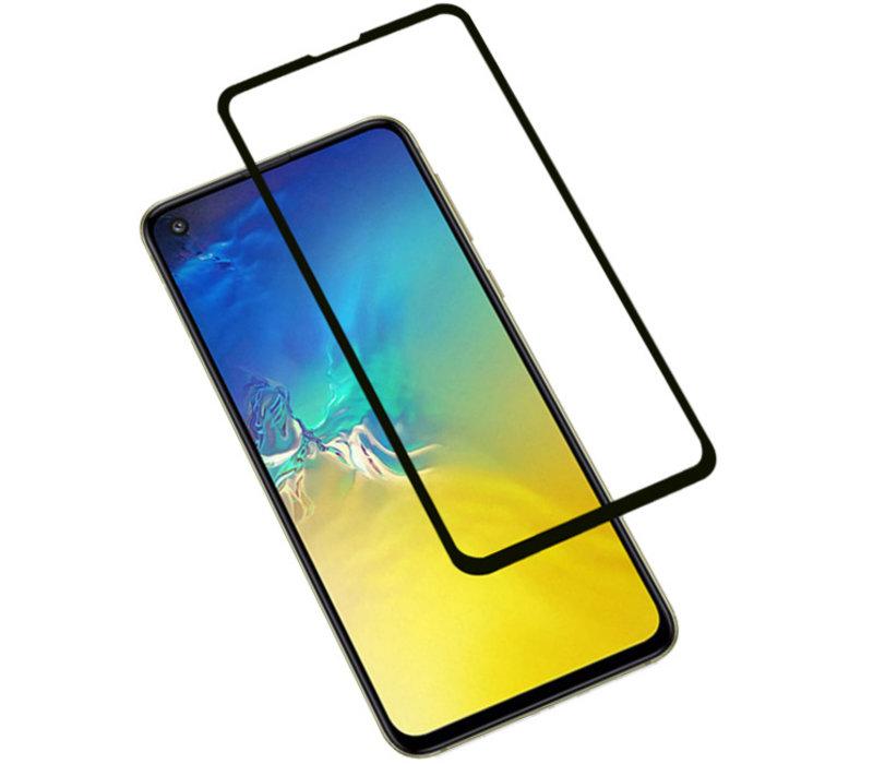 3D Tempered Glass voor Samsung Galaxy S10e Zwart