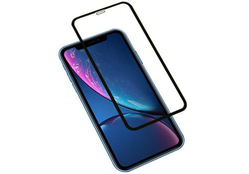 3D Tempered Glass voor iPhone XR Zwart