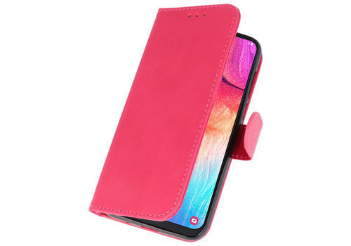 Bookstyle Wallet Cases Hoesje voor Galaxy A50 Roze
