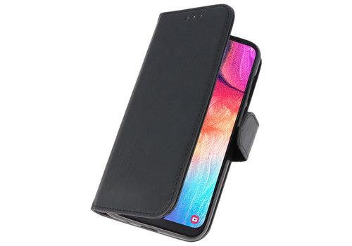 Bookstyle Wallet Cases Hoesje voor Galaxy A50 Zwart