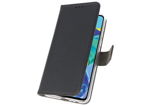 Wallet Cases Hoesje voor Huawei P30 Zwart