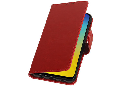 Pull Up Bookstyle voor Samsung Galaxy S10e Rood