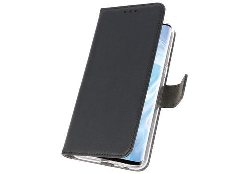 Wallet Cases Hoesje voor Huawei P30 Pro Zwart
