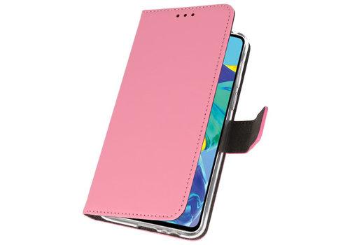 Wallet Cases Hoesje voor Huawei P30 Roze