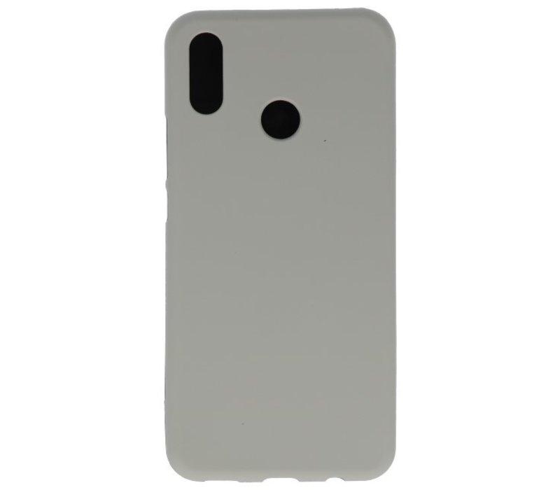 Color TPU Hoesje voor Huawei P30 Lite Grijs