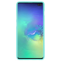 Color TPU Hoesje voor Samsung Galaxy S10 Plus Tuqquoise