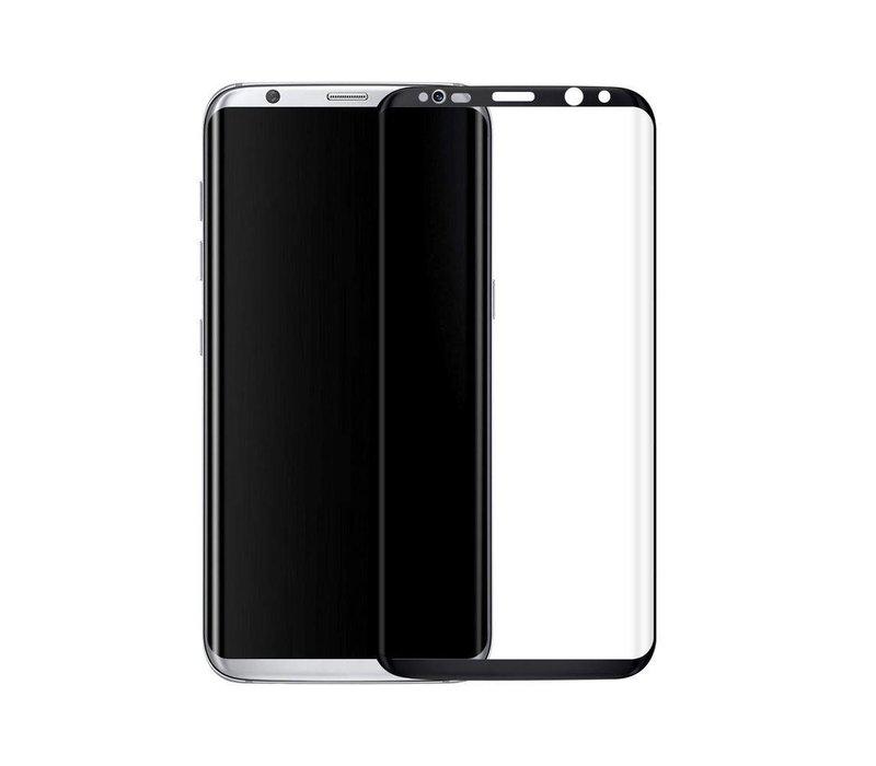 3D Tempered Glass voor Galaxy Note 8 Zwart