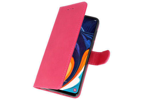 Bookstyle Wallet Cases Hoesje voor Samsung Galaxy A60 Roze