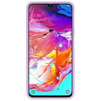 Color TPU Hoesje voor Samsung Galaxy A70 Paars