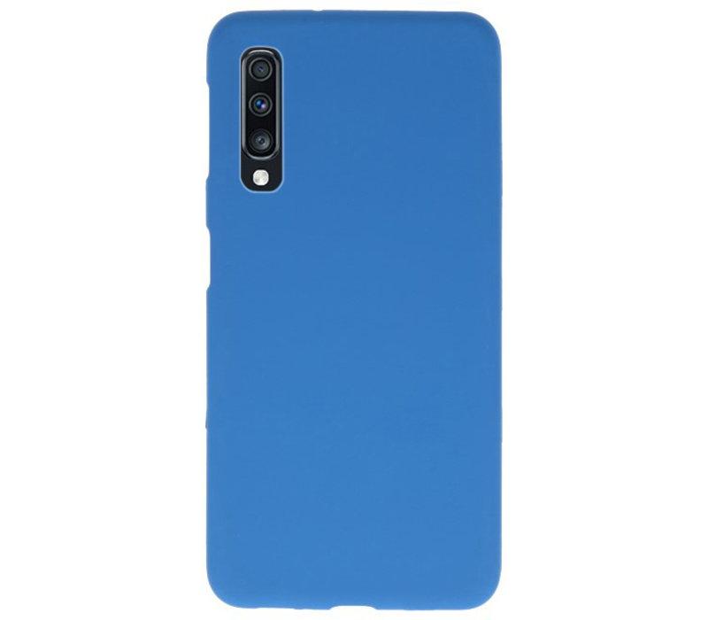 Color TPU Hoesje voor Samsung Galaxy A70 Navy