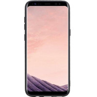 Grip Stand Hardcase Backcover voor Samsung Galaxy S8 Plus Zwart