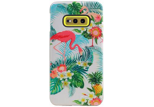 Flamingo Design Hardcase Backcover voor Galaxy S10e